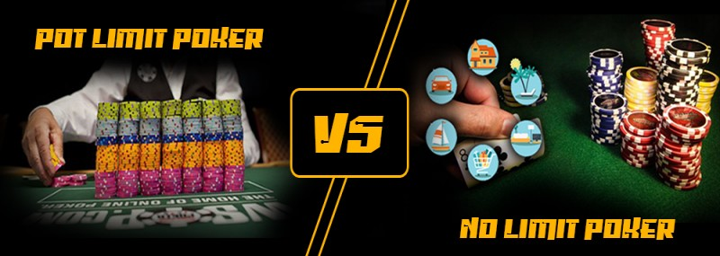 No Limit Poker vs Pot Limit Poker