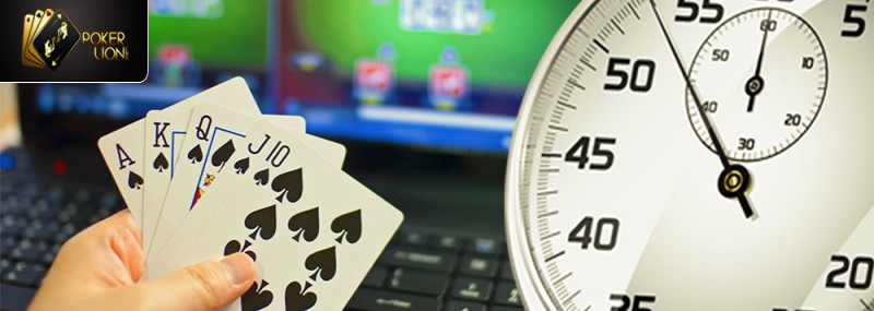 TIME FACTOR IN ONLINE POKER