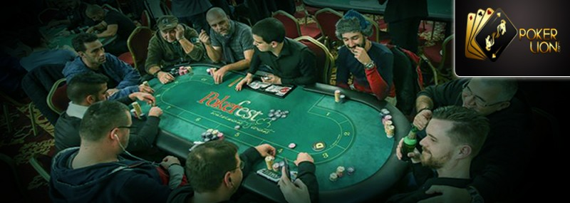 POKER IS AN EXCUSE TO CATCH UP WITH FRIENDS
