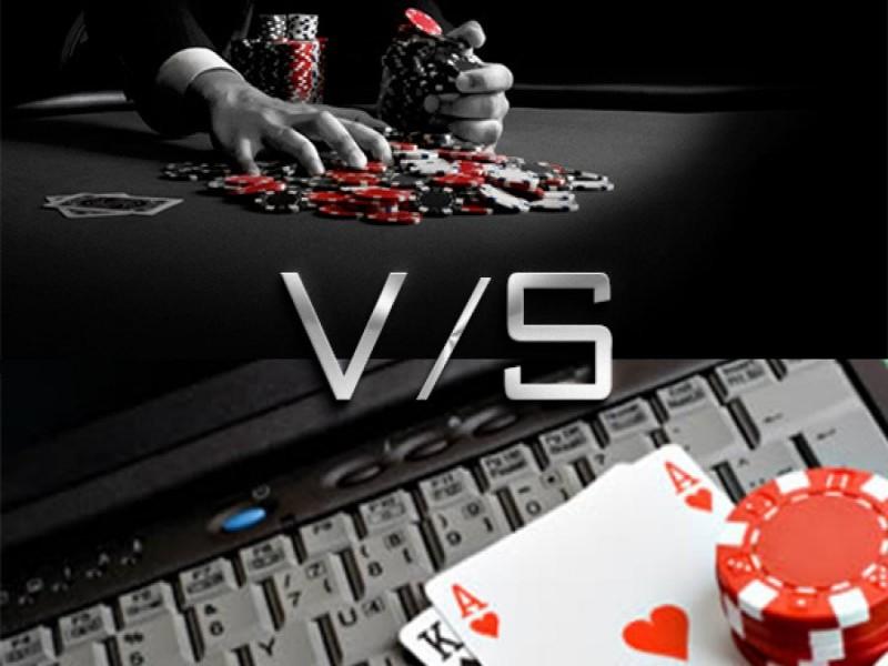 Live Poker Vs. Online Poker