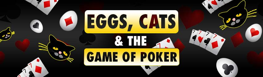 Eggs, Cats and the Game of Online Poker